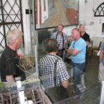 Návšteva centra kováčstva počas odbornej exkurzie vo Švédsku