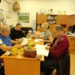 Zasadanie kontrolnej a revíznej komisie