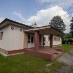 Podporený projekt stavebných úprav obecného úradu v Nezbudskej Lúčke