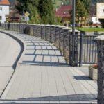 Podporený projekt výstavby chodníkov pre peších v Terchovej
