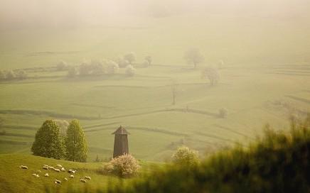 Pri ranných prechádzkach po zázrivských lúkach vás čakajú občasné ranné hmly.